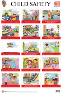 Child Safety (Educational Wall Charts) - educational wall charts CHILD SAFETY